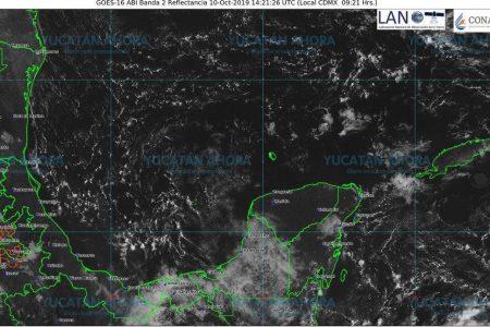 Nueva onda tropical dejará lluvias en Yucatán
