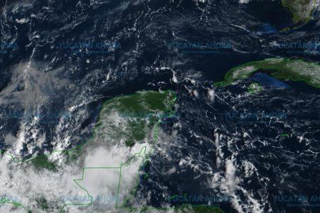 Baja presión provocará lluvias y chubascos en Yucatán