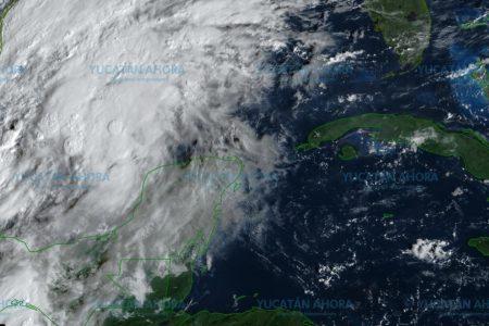 Baja presión en el Golfo de México causará lluvias en Yucatán