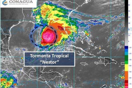 Se forma la tormenta tropical Néstor, a 500 km de Progreso