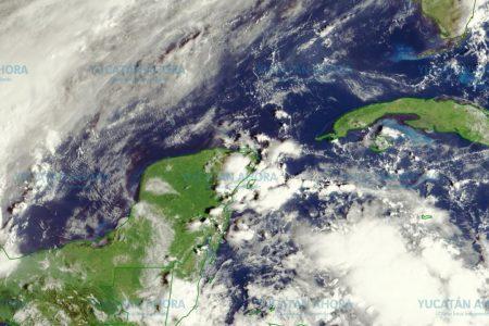 Hay frente frío en el Golfo, pero no llegará a la Península de Yucatán