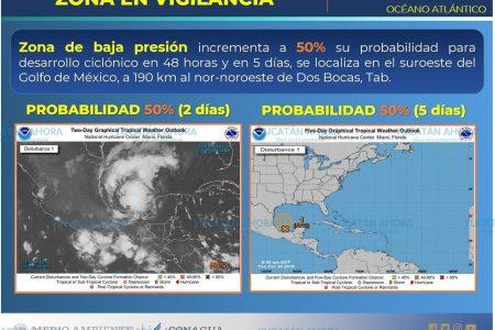 Más lluvias: se está formando otra tormenta en el Golfo de México