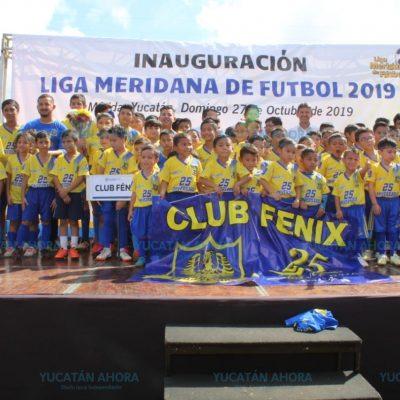 Arranca la décima edición de la Liga Meridana de Futbol