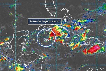 Zona de baja presión pierde probabilidad de formación ciclónica