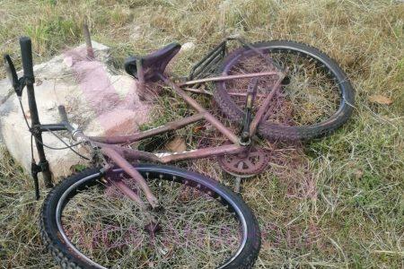Ciclista 'a pie' atropellado en el Periférico