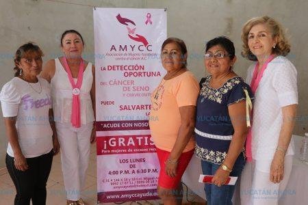 Caravana DIFerente se pinta de rosa por la detección oportuna del cáncer