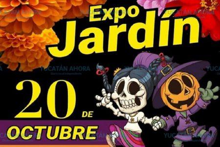 Una Expo Jardín 'de miedo' este domingo 20 de octubre