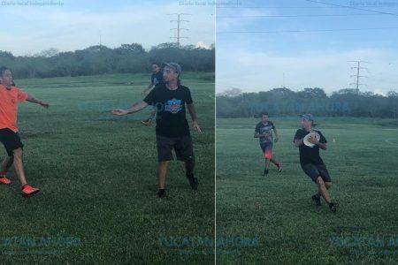 Makech, líder de la Liga de Ultimate Frisbee 'Cinco en Linea'