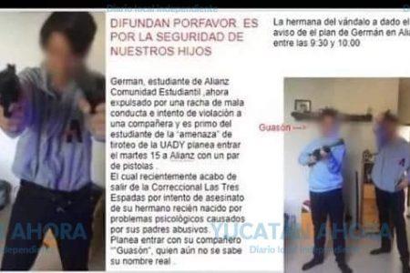 Otros 'bromistas': ya les gustó alarmar con falsas balaceras en Mérida