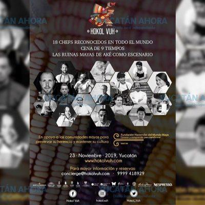 Chef yucateco se codea con los grandes en evento altruista