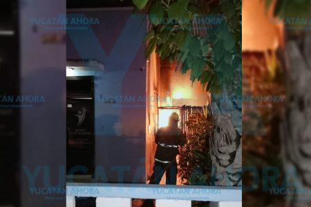 Se incendia clínica de la García Ginerés por fuga de gas