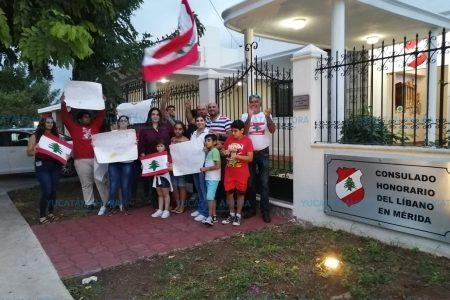 Llegan a Mérida protestas de libaneses contra impuesto al Whatsapp
