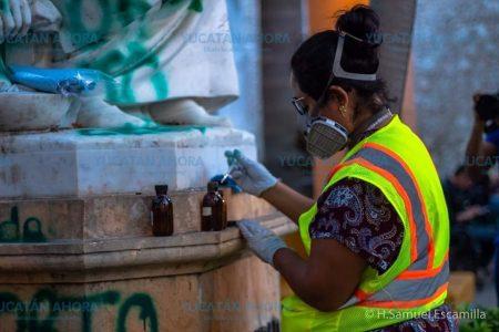 Mujeres, expertas del INAH, van a restaurar el Monumento a la Madre
