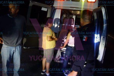 Vuelca camioneta de turistas mexiquense camino a Chichén Itzá
