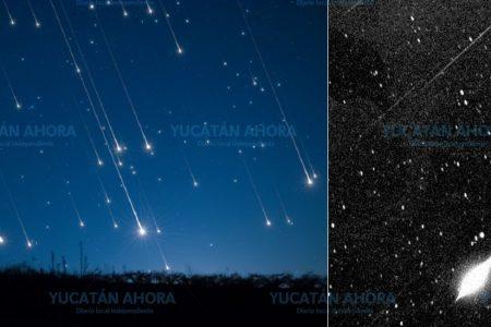 Ya se aprecia en Yucatán copiosa lluvia de estrellas