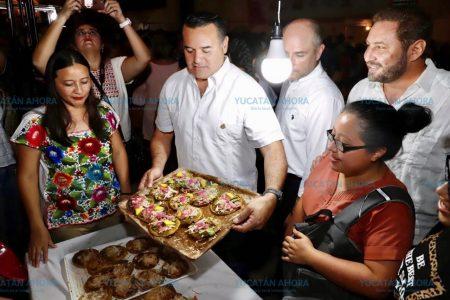 Gran participación en la primera Feria del Panucho en la Ermita