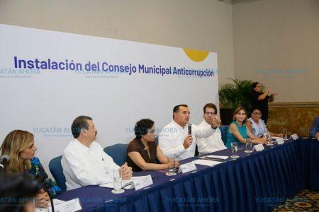 Renán Barrera instala el primer Consejo Municipal Anticorrupción