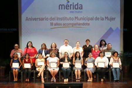 El Instituto Municipal de la Mujer celebra sus 18 años