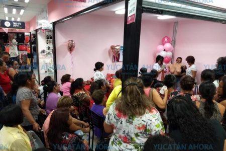 Mastografías gratis, en Plaza de la Mujer