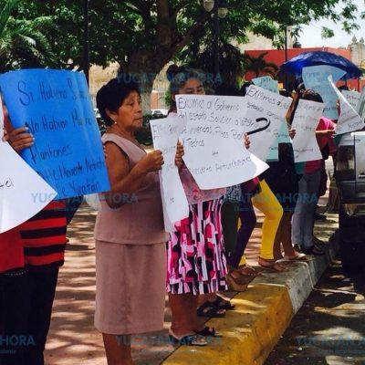 Exigen al alcalde de Tizimín que cumpla sus promesas de campaña