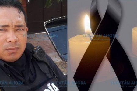 Respaldo inmediato a familiares del policía fallecido en accidente