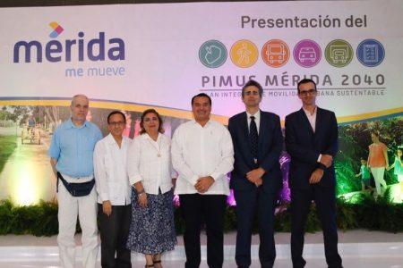 Renán Barrera presenta el Plan Integral de Movilidad Urbana Sustentable de Mérida