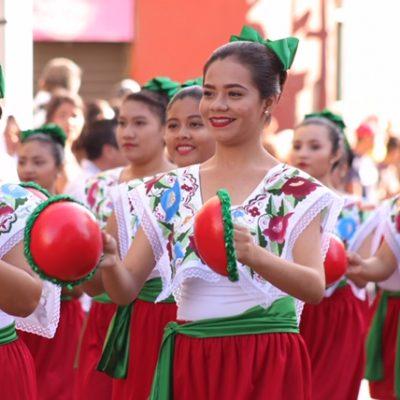 Ellos fueron los mejores del desfile revolucionario en Mérida