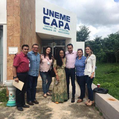 Reconocen labor de Yucatán en prevenir las adicciones