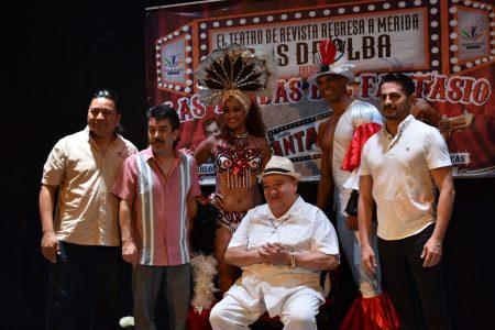 Regresa el Teatro de Revista con Luis de Alba y las Tandas del Fantasio
