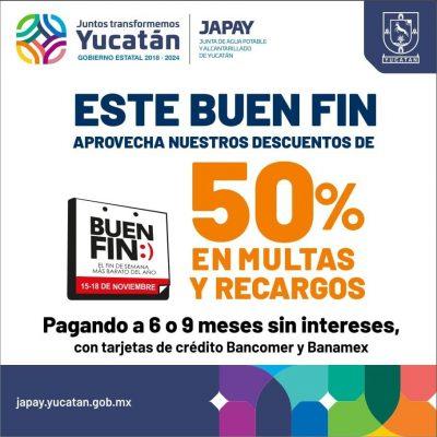 Gobierno de Yucatán se suma a El Buen Fin, en multas y recargos