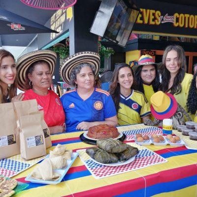 Colombia trae a Mérida una probadita de su extensa gastronomía