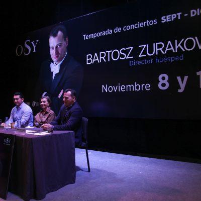 Invita OSY a disfrutar de la música de Beethoven, Massenet y Tchaikovsky