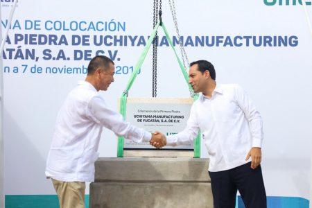 Arranca la construcción de la planta japonesa Uchiyama Manufacturing en Yucatán
