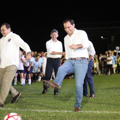 Arranca la Liga de Fútbol 'Eric Díaz Palma'