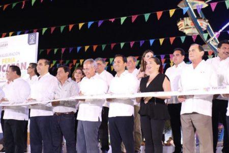 Mauricio Vila inaugura la edición 45 de la Feria Yucatán Xmatkuil