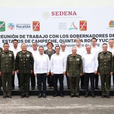 Gobernadores peninsulares, mejor coordinados en seguridad