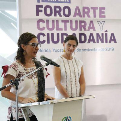 Especialistas y comunidad artística dialogan a favor de la cultura