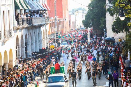Se arma la Revolución en Mérida: marchan por el 109 aniversario
