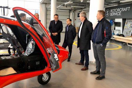 Empresa aeronáutica de Polonia interesada en invertir en Yucatán