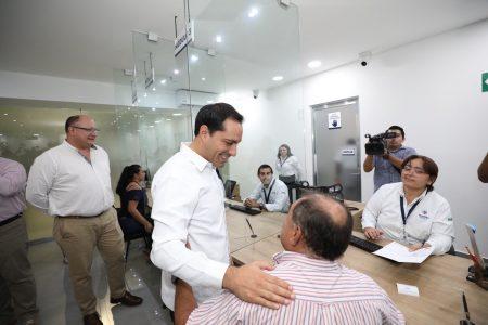 Mauricio Vila inaugura las Ventanillas Únicas Estatales, con servicios más ágiles