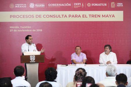 Tren Maya potencializará la economía de Yucatán: Mauricio Vila