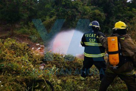 Aseguran cilindro de venenoso gas en Villa Magna del Sur