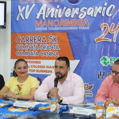 Anuncian la carrera Mano Amiga en Conkal, el 24 de noviembre