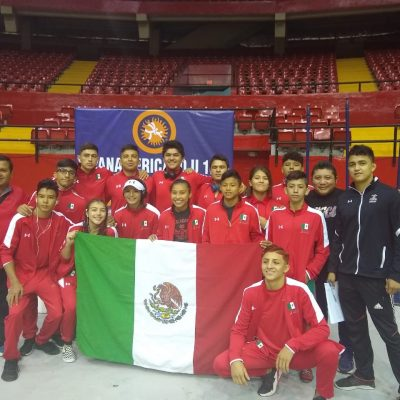 Yucateco Roger Kantún gana oro en Panamericano de Luchas