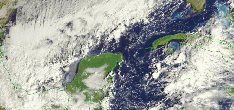 Frente frío 8 'pellizca' la Península de Yucatán. ¿Llegará? – Yucatan Ahora