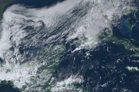 Frente frío 13 dejará hasta 10 grados en el sur de Yucatán