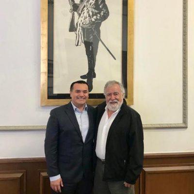 Renán Barrera Concha busca nuevas alianzas con el gobierno federal