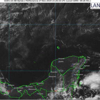 Leve onda tropical podría dejar algunas lluvias en Yucatán