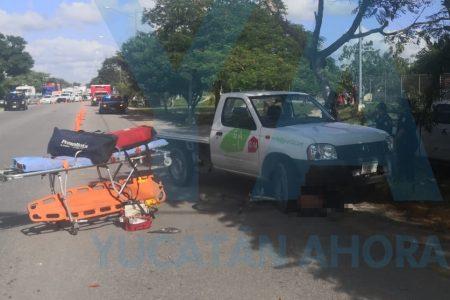 Tragedia en el Periférico: ciclista acaba debajo de una camioneta