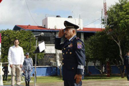 Nuevo comandante interino en la Base Aérea de Mérida